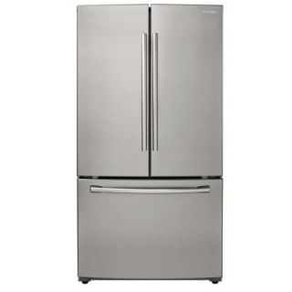 Samsung 25.5 cu. ft. French Door Refrigerator in Stainless Steel RF260BEAESR