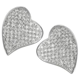 Journee Collection Sterling Silver Cubic Zirconia Earrings   15010035