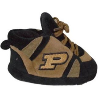 Comfy Feet   PUR03PR   Purdue Boilermakers Baby Slipper   Newborn to 9 Month