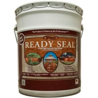 READY SEAL 5 gal. Golden Pine Exterior Wood Stain and Sealer 510