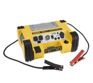 Stanley FatMax Professional 1000 Peak Amp Power Station w 500W Inverter —