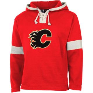 Old Time Hockey Calgary Flames Grant Lace Hoodie