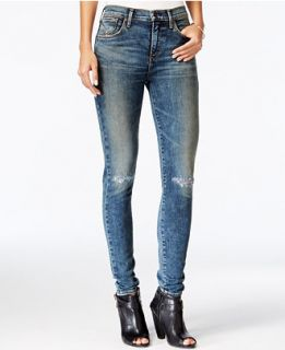 Gold E Sophie Ripped Skinny Valencia Wash Jeans   Jeans   Women