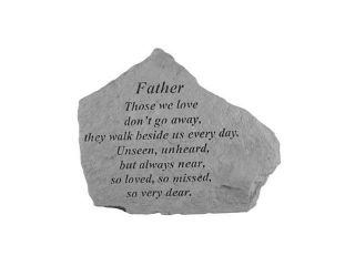 Kay Berry  Inc. 15120 Father Those We Love   Memorial   6.875 Inches x 5.5 Inches