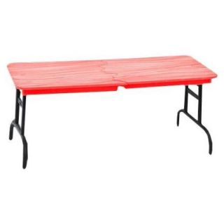 WWE Wrestling Break Apart Table [Red Wood Grain]