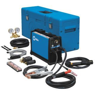 MILLER ELECTRIC TIG Welder, Maxstar 150 STL Series, Welder Max. Output Amps: 150, Welder Industrial Class: Light   2RUA1|907135017   Grainger
