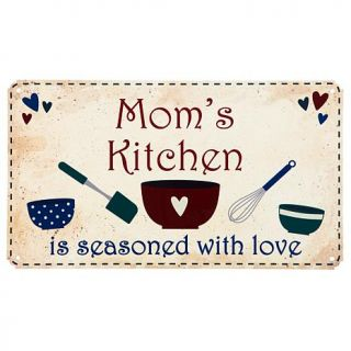 Personal Creations Country Kitchen Metal Sign   Seasoned with Love   7469790