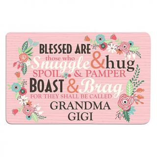 Personal Creations Personalized Blessed Are Those Doormat   7768592