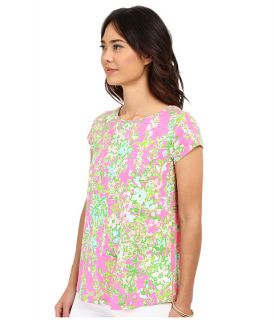 Lilly Pulitzer Betsey Top Flamingo Pink Southern Charm, Pink