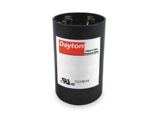 DAYTON 6FLL3 Motor Start Capacitor, 590 708 MFD, Round