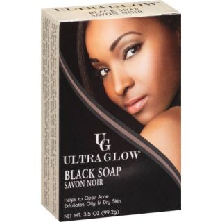 Ultra Glow Black Soap, 3.5 oz